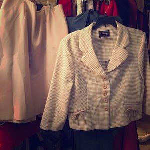 SUPER SALE 2 for $25 Skirt / jacket combo